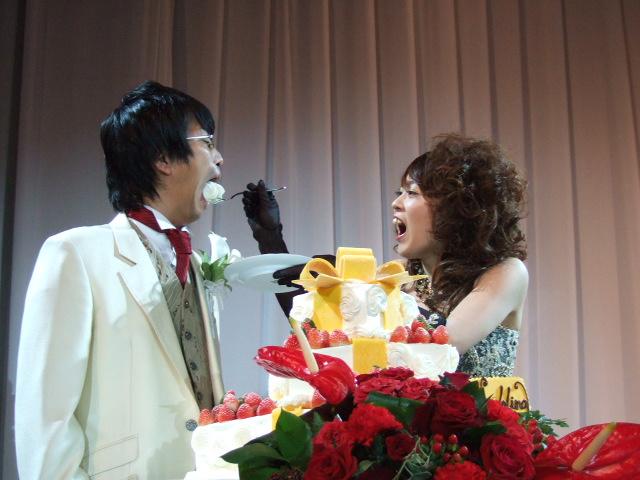 久しぶりの結婚式披露宴_c0128487_23445420.jpg