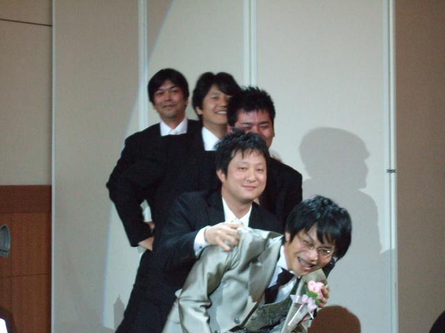久しぶりの結婚式披露宴_c0128487_2346682.jpg