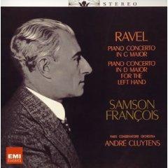 Samson Francois / Ravel Piano Concerto in G Major,in D Major for The Left Hand_d0102724_113218.jpg