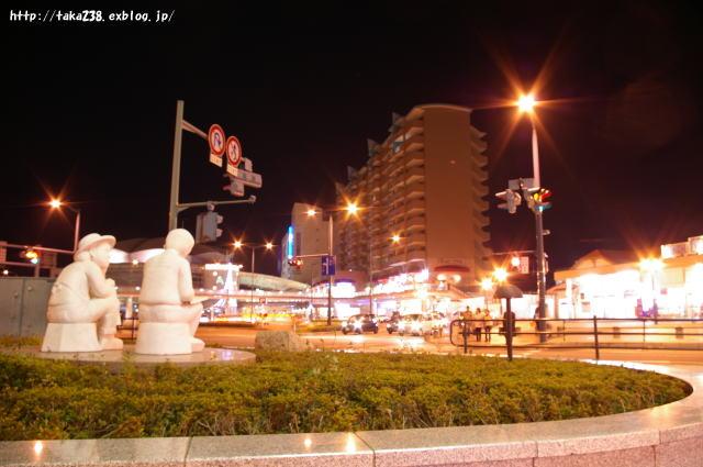 尾道駅前夜景_c0152379_122379.jpg