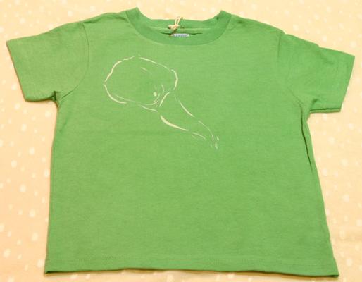型染め カラー(花)子供用Tシャツ_e0104046_1729397.jpg
