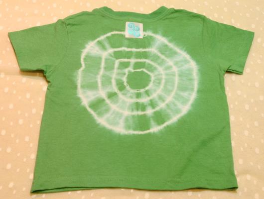 型染め カラー(花)子供用Tシャツ_e0104046_1730733.jpg