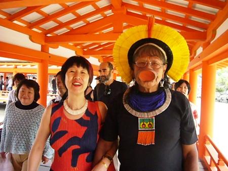 長老ラオー二、日本を行く  (7) 安芸の宮島へ_f0141559_121777.jpg