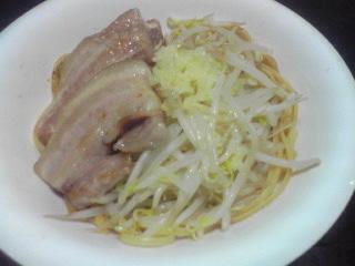 豚バラともやしの醤油スパゲティ_c0025217_0514499.jpg