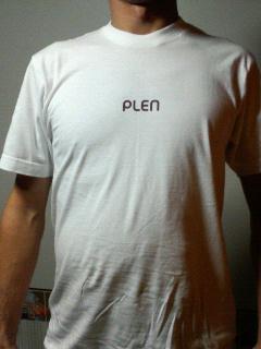 PLEN Tシャツ^^_e0061778_19461387.jpg