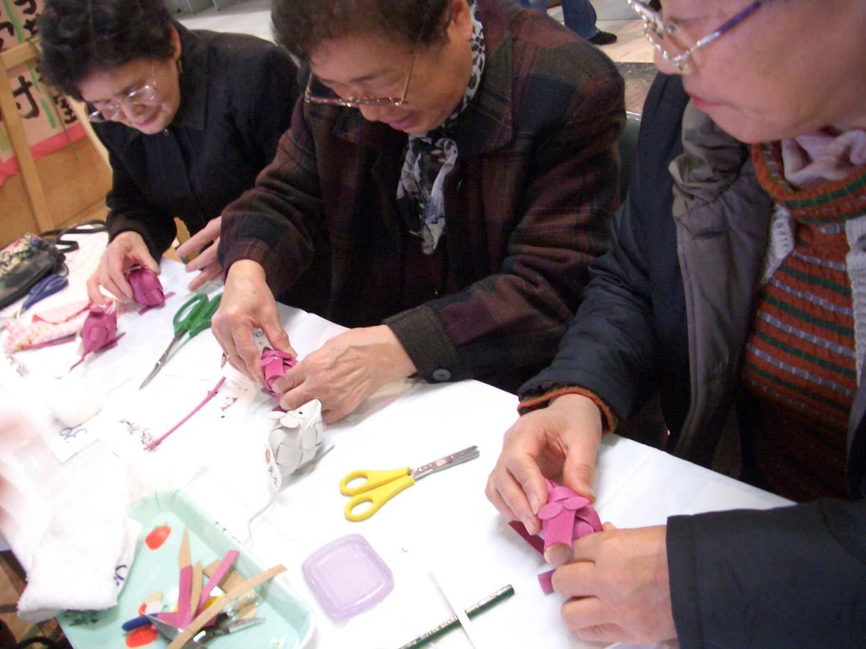 富士市の紙文化 紙バンド工芸!_f0141310_22122164.jpg