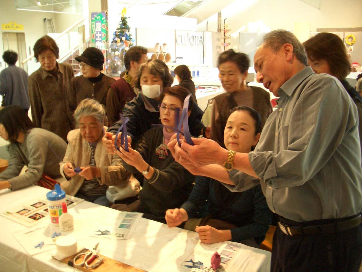 富士市の紙文化 紙バンド工芸!_f0141310_22131090.jpg