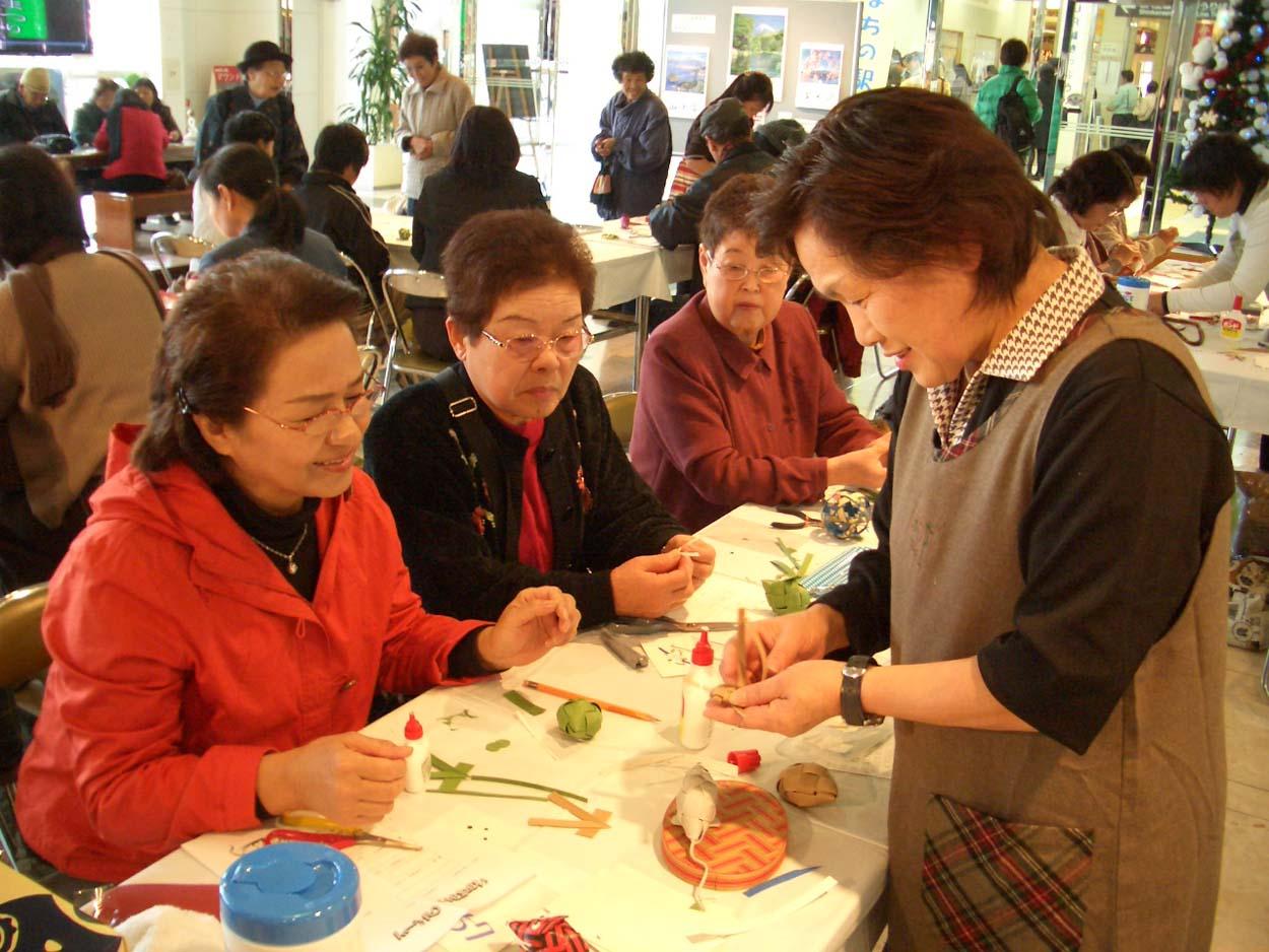富士市の紙文化 紙バンド工芸!_f0141310_22131772.jpg