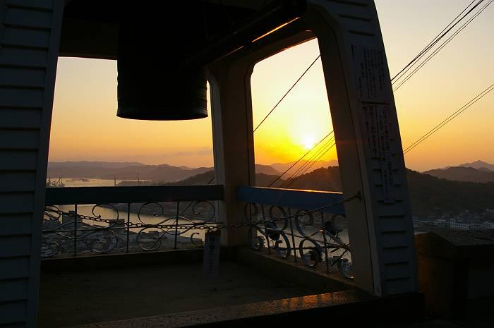 千光寺からの日出_c0152379_885762.jpg