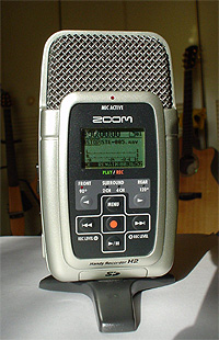 なかなかの優れモノ 「ZOOM Handy Recorder H2」_c0137404_917761.jpg