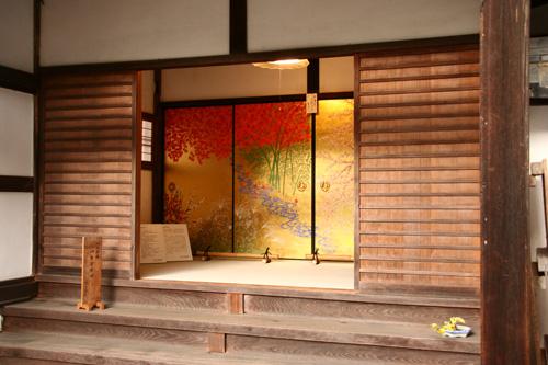 京都紅葉ウォーキング Ⅱ 圓光寺_d0055236_1441364.jpg
