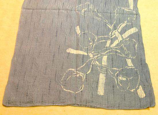 2007-41 カラーのお花 シルクストール ブルーグレー_e0104046_145938.jpg