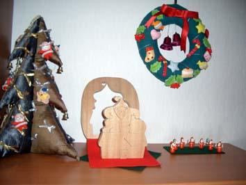 クリスマス  ディスプレイ Ⅰ_f0129726_20433641.jpg