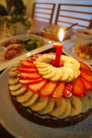 祝!初誕生日 家族揃ってお祝い_a0103712_20213465.jpg