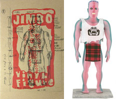 Jimbo Book and Vinyl Figure set by Gary Panter_c0155077_18311236.jpg