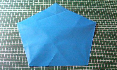 正方形の紙がある? 折る ...