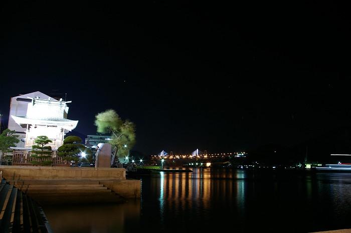 尾道水道夜景_c0152379_21462267.jpg