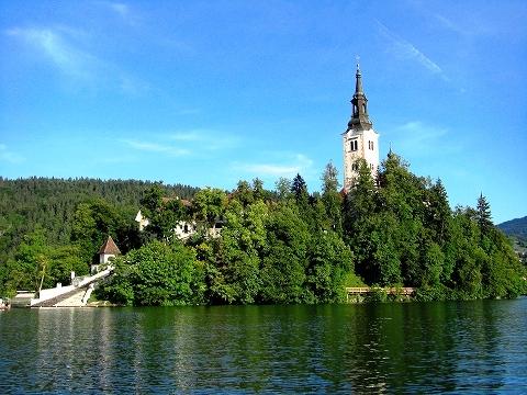 3日目(8/24):スロヴェニア アルプスの瞳「ブレッド湖」(1)_a0039199_23151173.jpg