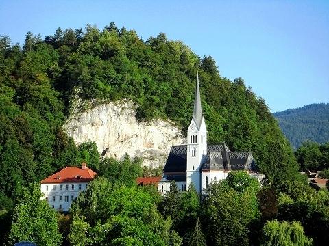 3日目(8/24):スロヴェニア アルプスの瞳「ブレッド湖」(1)_a0039199_23163654.jpg
