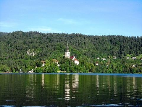 3日目(8/24):スロヴェニア アルプスの瞳「ブレッド湖」(1)_a0039199_2316532.jpg