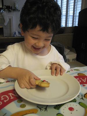 「ジャンボなクッキーが焼けるねー」と、言われたけれど・・_c0119197_10532369.jpg