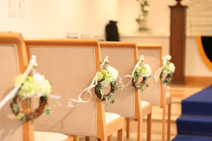 シェ松尾天王洲倶楽部さまの装花 一会とクリスマス_a0042928_023386.jpg
