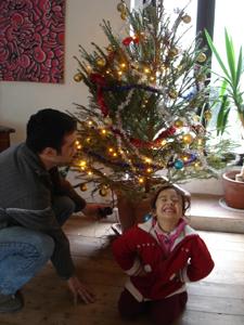 それでも、結局クリスマスツリー(笑)_f0106597_3423670.jpg