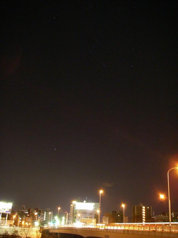 冬の星座 オリオン_f0033205_22583695.jpg