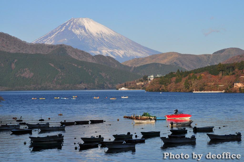 箱根で見えた富士山など_e0127034_1513473.jpg