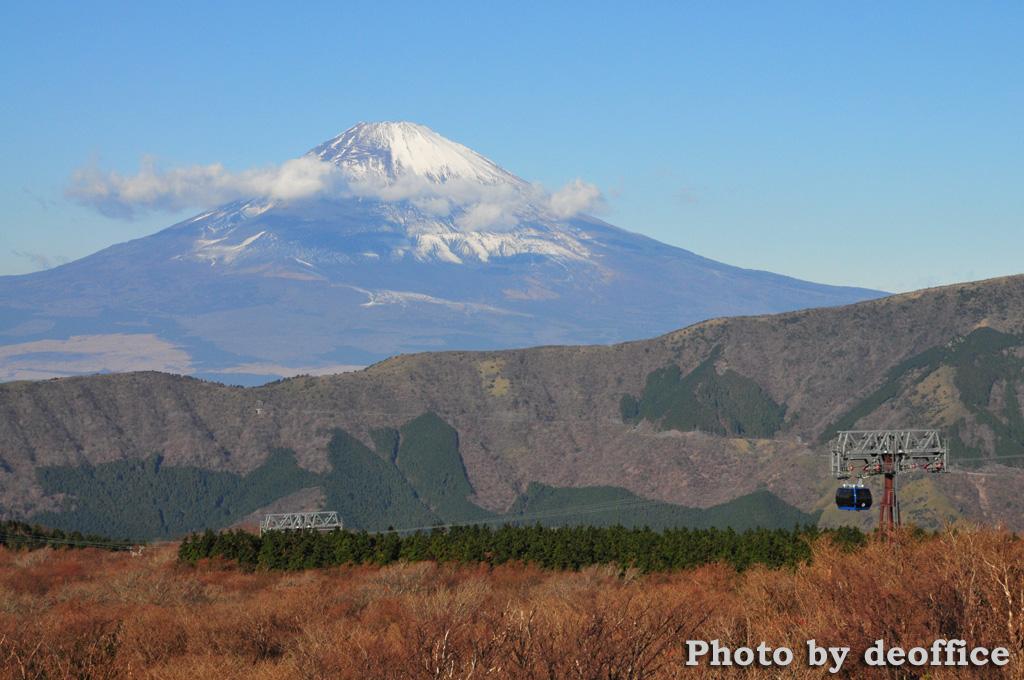箱根で見えた富士山など_e0127034_15153186.jpg