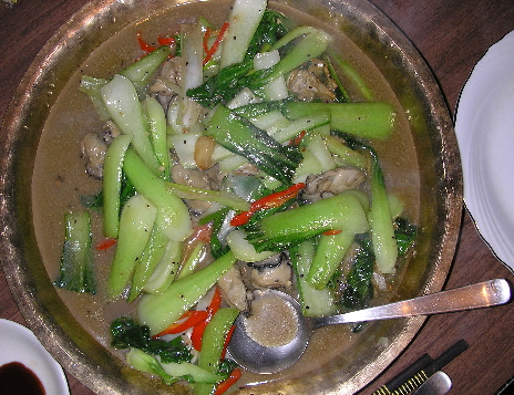 牡蠣と青梗菜のオイスターソース炒め_c0152520_2254384.jpg