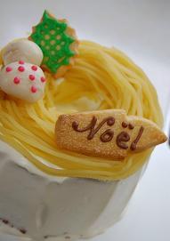 ケーキの飾りは手作りで♪_e0071324_2252323.jpg