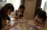 ケーキの飾りは手作りで♪_e0071324_22554828.jpg