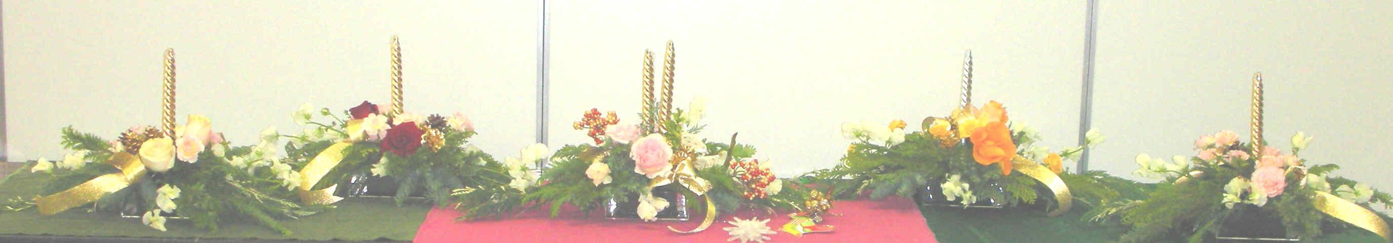 花教室「クリスマスの食卓を飾る花」 神宮にて_c0128489_0361516.jpg