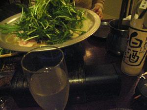 軍鶏鍋_b0038919_17475583.jpg