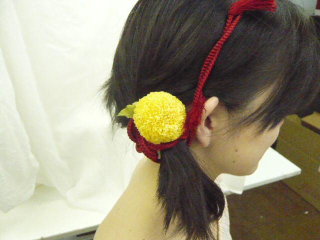 花時間1月号 和装につけたい「花の髪飾り」後編_a0042928_222675.jpg