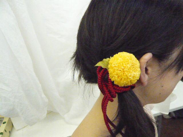 花時間1月号 和装につけたい「花の髪飾り」後編_a0042928_2292992.jpg