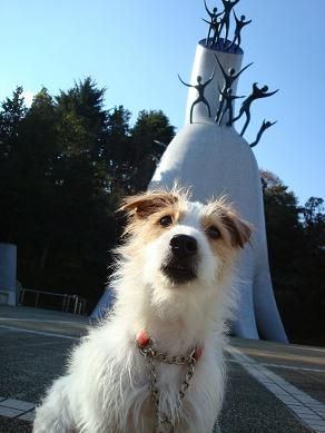 犬とトレッキングと芸術_c0099133_0475120.jpg