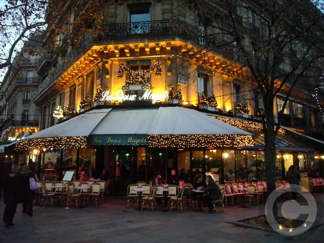 ■夜のサンジェルマン界隈のキャフェ(パリ)_a0014299_70040.jpg