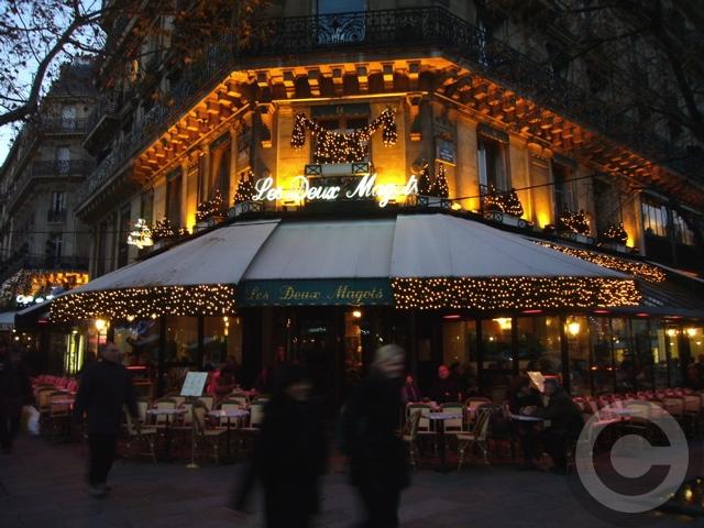 ■夜のサンジェルマン界隈のキャフェ(パリ)_a0014299_701544.jpg