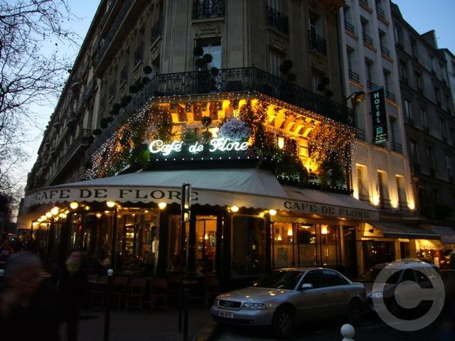 ■夜のサンジェルマン界隈のキャフェ(パリ)_a0014299_703147.jpg