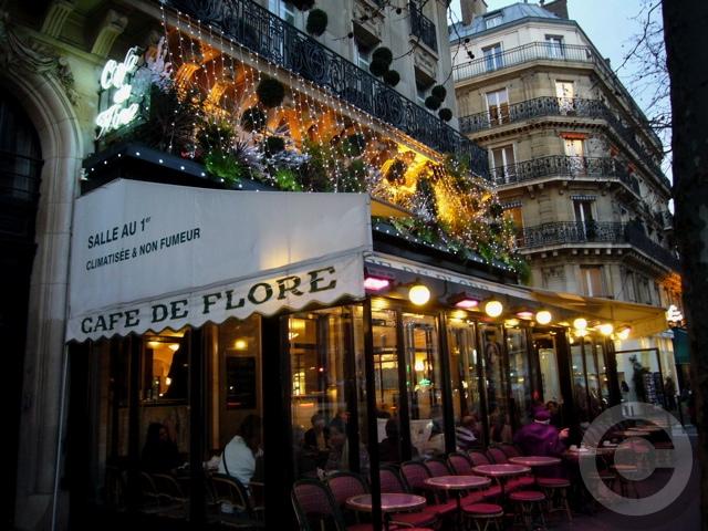 ■夜のサンジェルマン界隈のキャフェ(パリ)_a0014299_71116.jpg