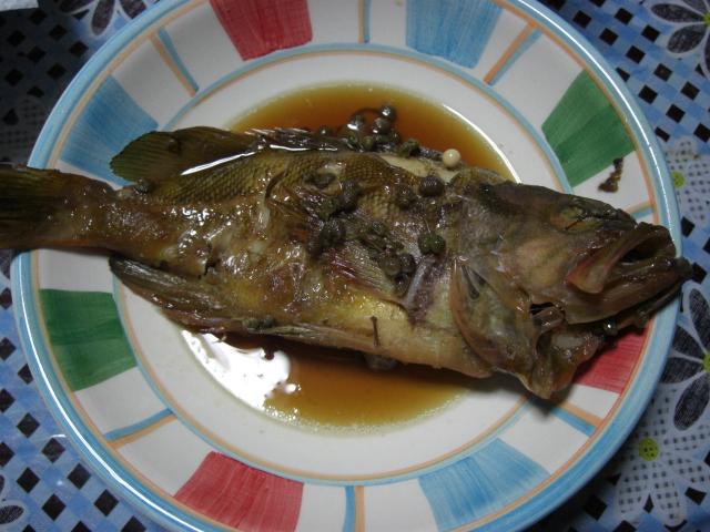 煮魚_c0088525_2018635.jpg