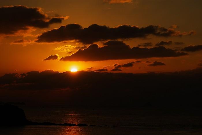 立花海岸の日出_c0152379_8475077.jpg