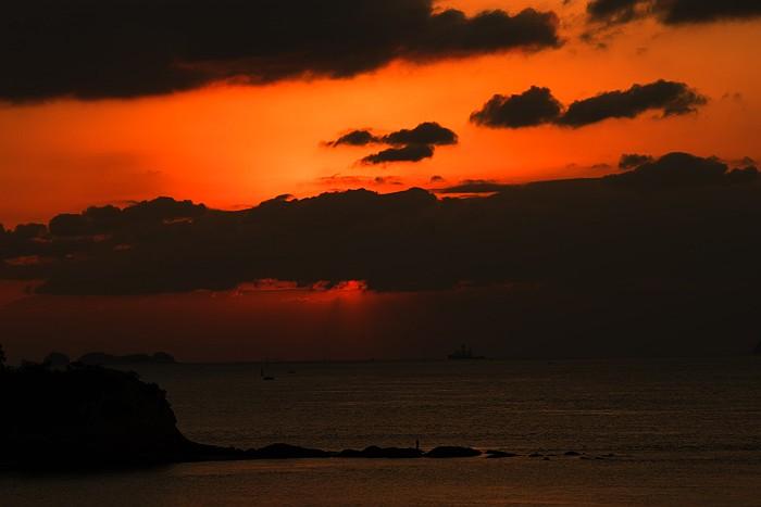 立花海岸の日出_c0152379_8482266.jpg