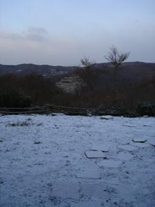 初雪が降りました_f0106597_0215540.jpg