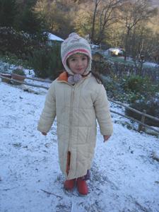 初雪が降りました_f0106597_0265446.jpg