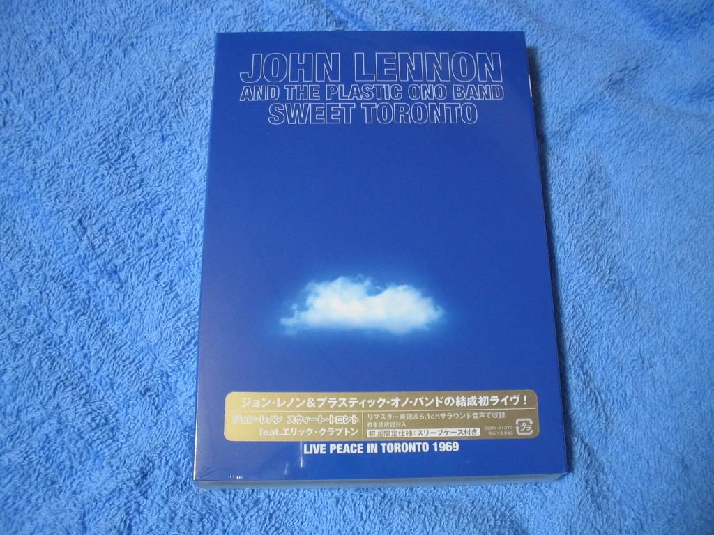 JOHN LENNON AND THE PLASTIC ONO BAND / SWEET TORONTO (DVD)_c0065426_23222335.jpg