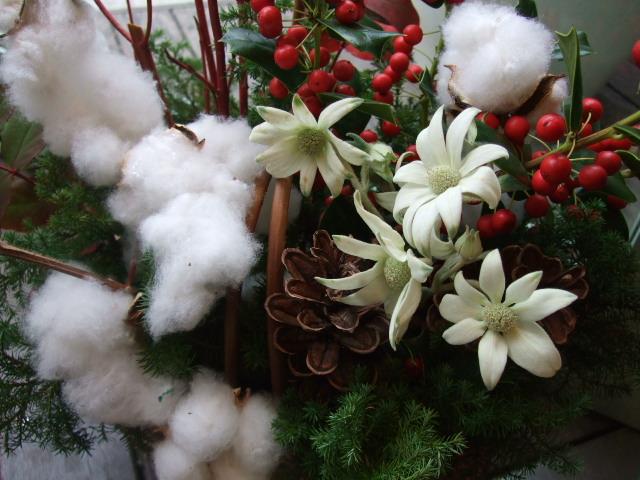 オークリーフ(クリスマスアレンジメント)_f0049672_15255421.jpg