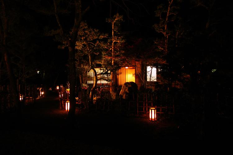 嵐山花灯路2007 -落柿舎-_e0051888_19423827.jpg